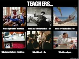 What I Think I Do Meme - teachers what my friends think i do what my mother thinks i do