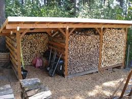 How To Build A Shed Out Of Scrap Wood by Firewood Storage Sheds To Store Wood For Winter From East Coast