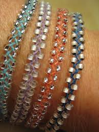 braided bead bracelet images Beaded braid bracelet bracelets braided bracelets and linens jpg