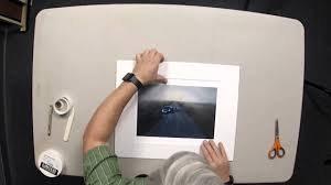 tutorial how to mat a photographic print youtube
