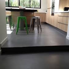 sol cuisine béton ciré extension de maison cuisine sol bton cir angers particuliers pour