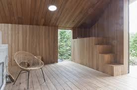Interior Wood Design Amazing The Poplar Wood Garden House By Onix Architecten