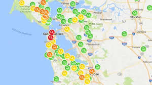 Bay Area Map Outages Update Storm Leaves Thousands Across Bay Area Without