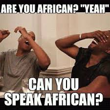 African Meme - the kids in your class always asked you ridiculously stupid