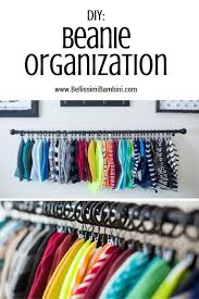 How To Organise Your Closet Best 25 Organize Hats Ideas On Pinterest Hat Organization