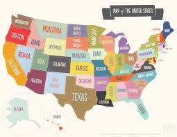Kids Map Of The United States by National Solutions F I G H T F Emale I Nspired G Rowth Of H