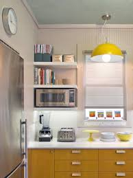 Kitchen Cabinets Open Shelving Saving Space 15 Ways Of Mounting Microwave In Upper Cabinets