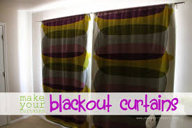 Thermal Curtain Lining Which Side Out Make Your Curtains Blackout Curtains Simplified Version Make