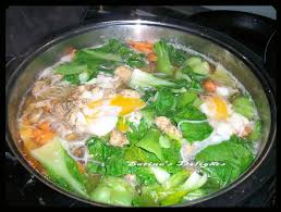 cuisine mauricienne chinoise mee foon soup soupe chinoise satine s delights