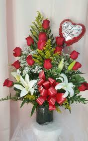roses and lilies triangle roses and lilies iris florist