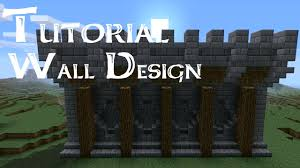 wall blueprints minecraft castle wall design tutorial u2013 rift decorators