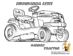 tractor coloring pages free to download 6742