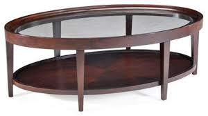Wood Oval Coffee Table - modern oval coffee table