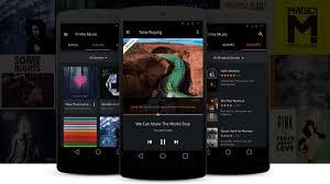 amazon prime music user experience design portfolio of simon pan