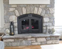 tumbled stone fireplace decor color ideas cool under tumbled stone