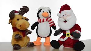 Movable Christmas Decorations by Animated Christmas Decorations Youtube