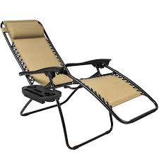 Zero Gravity Patio Lounge Chairs Amazon Com Best Choiceproducts Zero Gravity Chairs Tan Lounge