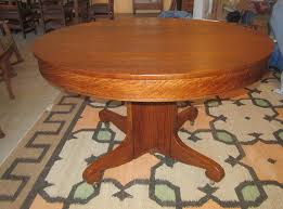 round oak dining table phil taylor antiques u2013 ottumwa ia