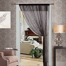 decorative door string curtain beads wall panel fringe window room