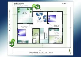 North Facing Floor Plans House Plans North Facing 30 X 45 House Floor Plans