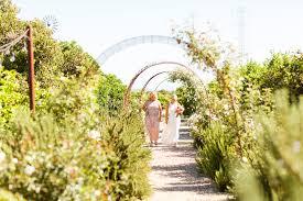 Slo Botanical Garden by Pastel Wedding At Dana Powers Barn Mason U0026 Megan Photography
