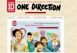 one direction cards 1d e cards happy s day from one direction one