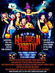 kids ballroom halloween party dance lessons philadelphia