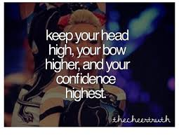 it s all about the bow cheer stunts and cheerleading