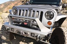custom jeep bumpers this custom 2013 jeep wrangler jk is loud and clear about its