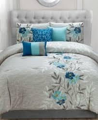 Tradewinds 7 Piece Comforter Set Hallmart Collectibles Krissa Embroidered 7 Piece Full Comforter