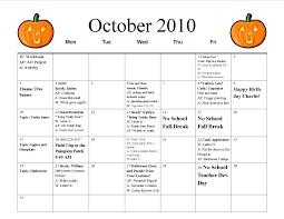 calendar preschool calendar template