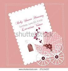 baby shower invitation template vector illustration stock vector