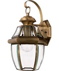 Brass Sconces Quoizel Ny8316 Newbury 9 Inch Wide 1 Light Outdoor Wall Light