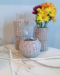 Fall Decorating Projects - diy fall decorating projects plaster gourds and sweater vases
