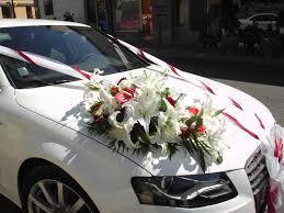 deco mariage voiture décoration de voitures pour mariage plan de cuques fleurs