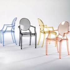 philippe starck ghost chair material