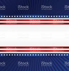 Blue Flag With Stars Patriotic Background Red White Blue With Stars Stripes Stock