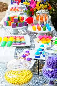 party table dreamworks trolls the beat goes on birthday party candy or