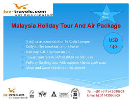 travel packages malaysia air travel deals to malaysia