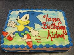 sonic the hedgehog cake toppers top ten sonic the hedgehog cakes birthday express