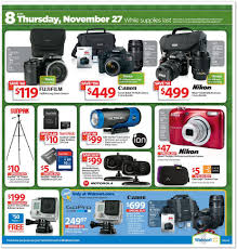 black friday camera view the walmart black friday ad for 2014 deals kick off at 6