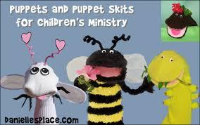bible puppet skits