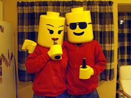 Lego Brick Halloween Costume Lego Hands Foam Beer Bottle Holders Cut