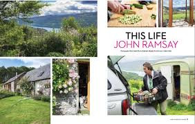 home and interiors chef john ramsay featured in press and media