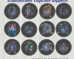 transformers cake decorations optimus prime cake etsy