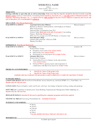 Mis Resume Sample by Job Resume Samples