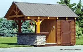 siesta poolside bars pool cabanas bars homestead structures 10 x 12 timberframe siesta poolside bar 3 overhang