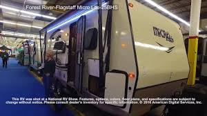 forest river flagstaff micro lite 25bhs youtube