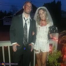 Zombie Bride Groom Halloween Costumes Bride Groom Couple Costumes