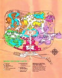 Map Of Epcot 1990 Wdw And Seaworld Maps Theme Park Review